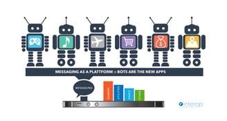 Messaging as a Platform Bots